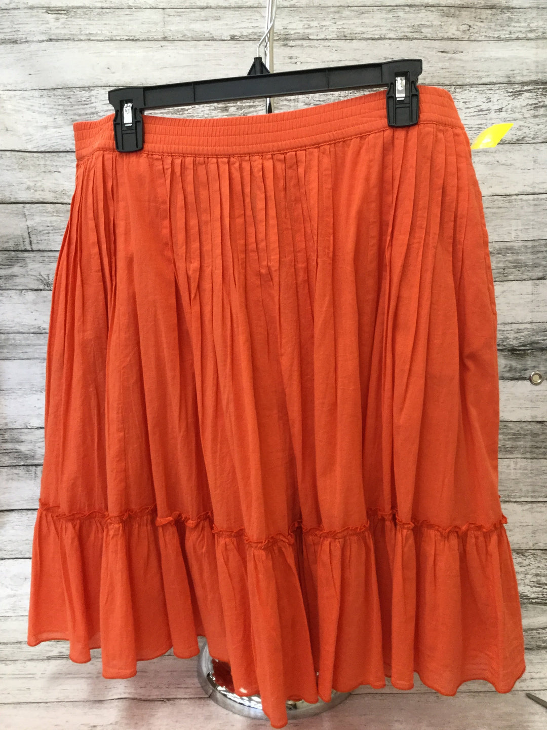 Primary Photo - brand: gap , style: skirt , color: orange , size: m , sku: 125-4893-1802
