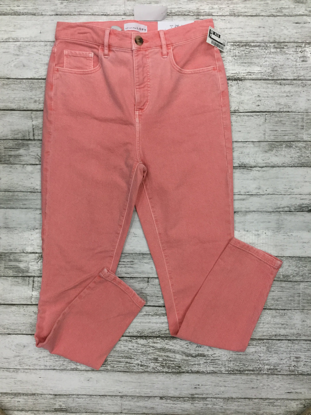 Primary Photo - brand: loft , style: pants , color: peach , size: 2 , sku: 129-4748-3118