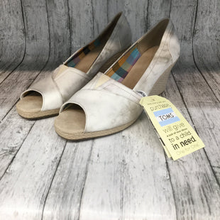 Primary Photo - BRAND: TOMS STYLE: SHOES LOW HEEL COLOR: GREY SIZE: 12 SKU: 128-3212-36680