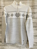 Primary Photo - brand:  cmb , style: sweater , color: grey , size: l , other info: nils - , sku: 129-4748-10760