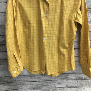 Primary Photo - BRAND: FACCONNABLE STYLE: BLOUSE COLOR: YELLOW SIZE: S SKU: 105-5184-3142