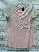 Photo #1 - brand: motherhood o , style: maternity top short sleeve , color: pink , size: s , sku: 125-4628-11091