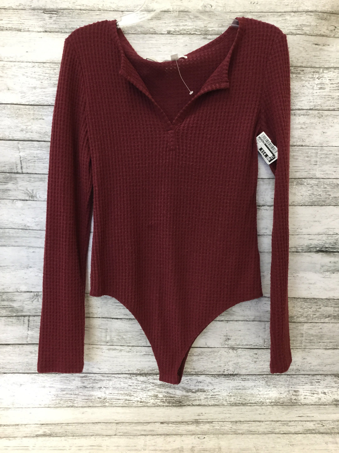 Primary Photo - brand: socialite , style: top long sleeve , color: maroon , size: m , sku: 125-4628-11987