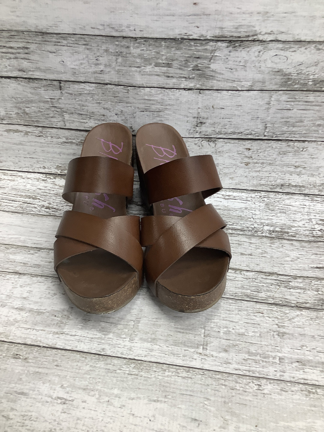 Primary Photo - brand: blowfish , style: sandals high , color: brown , size: 9 , sku: 105-5184-1623