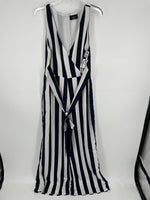 Primary Photo - brand:   vici, style: jumpsuit , color: striped navy & white, size: m , other info: vici - , sku: 128-3212-47184