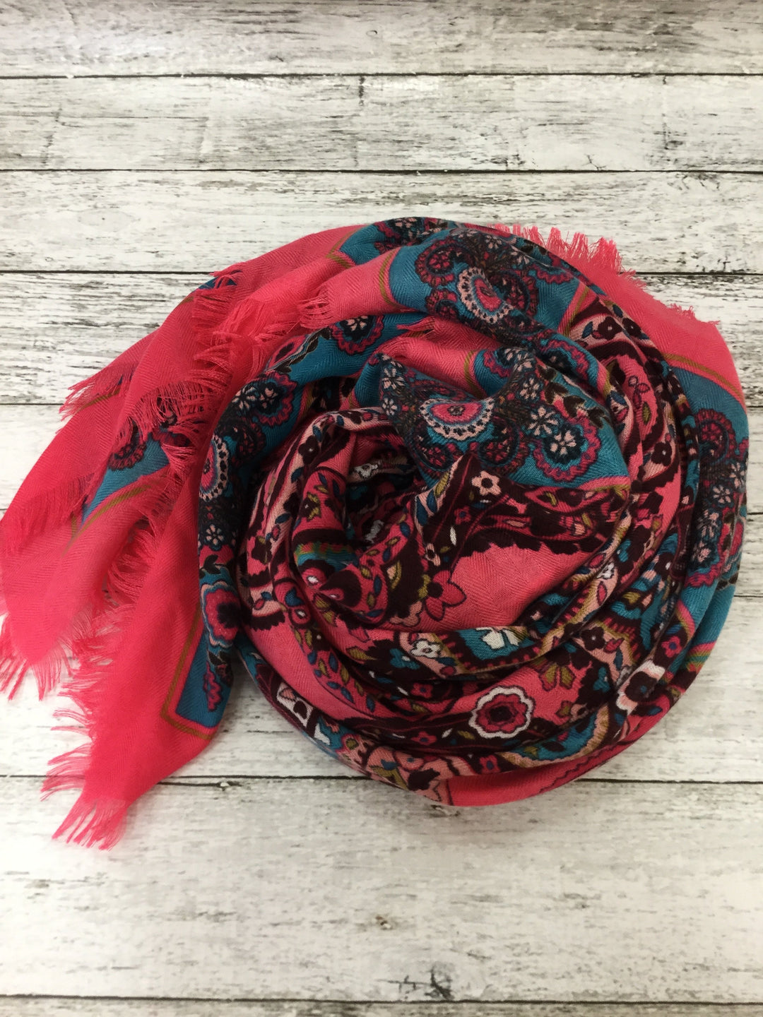 Primary Photo - brand: loft , style: scarf , color: pink , sku: 125-4432-3129 , 49 in x 49 in