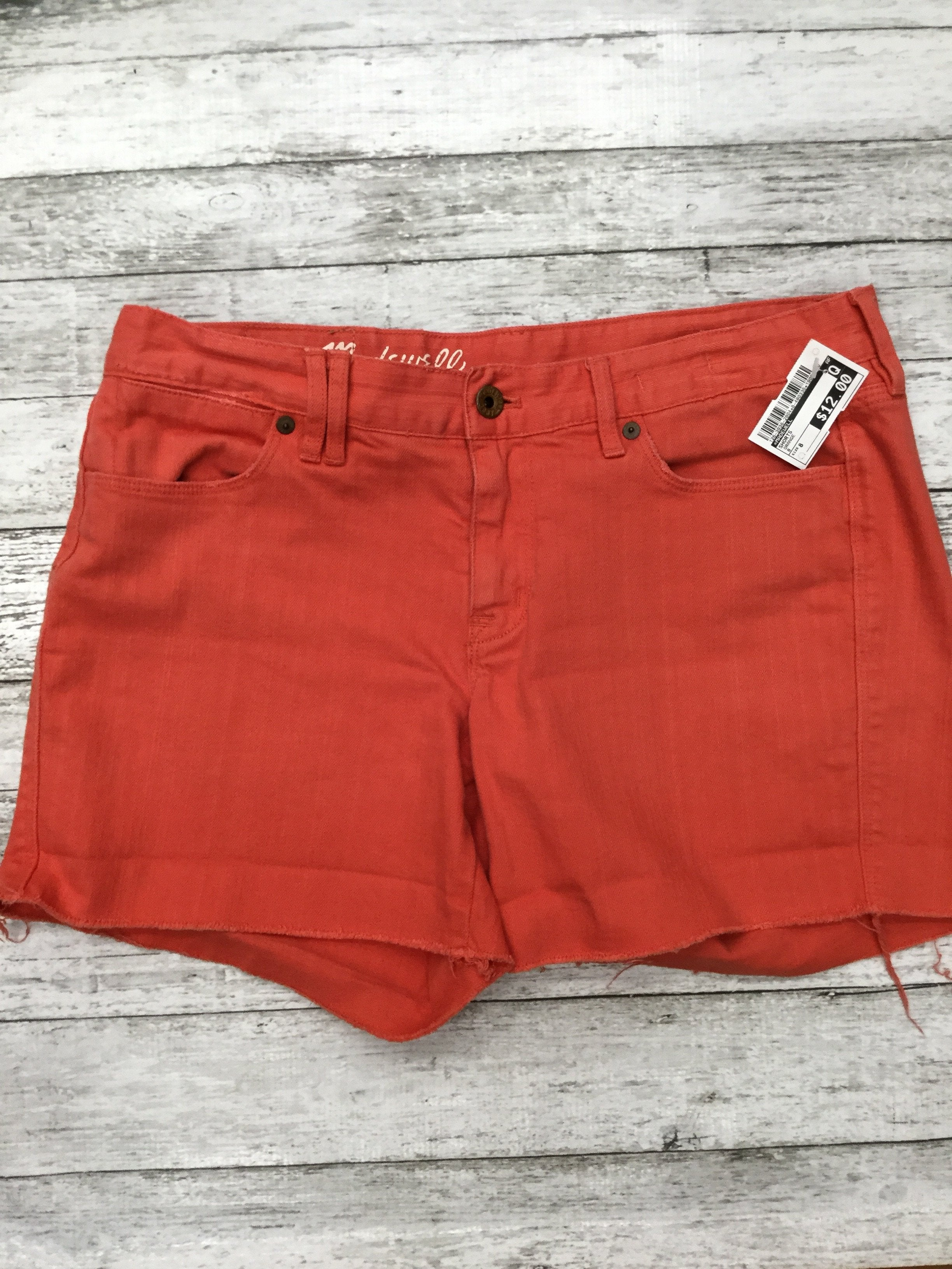 Primary Photo - brand: madewell , style: shorts , color: orange , size: 8 , sku: 126-3936-2804