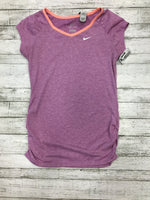 Primary Photo - brand: nike apparel , style: athletic top short sleeve , color: purple , size: l , sku: 129-4796-2074