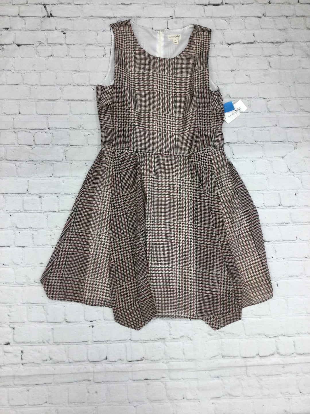 Primary Photo - brand: maison jules , style: dress short sleeveless , color: houndstooth , size: 10 , sku: 125-4655-4837