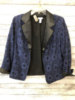 Primary Photo - brand: chicos , style: blazer jacket , color: blue , size: 1, sku: 125-2919-1908