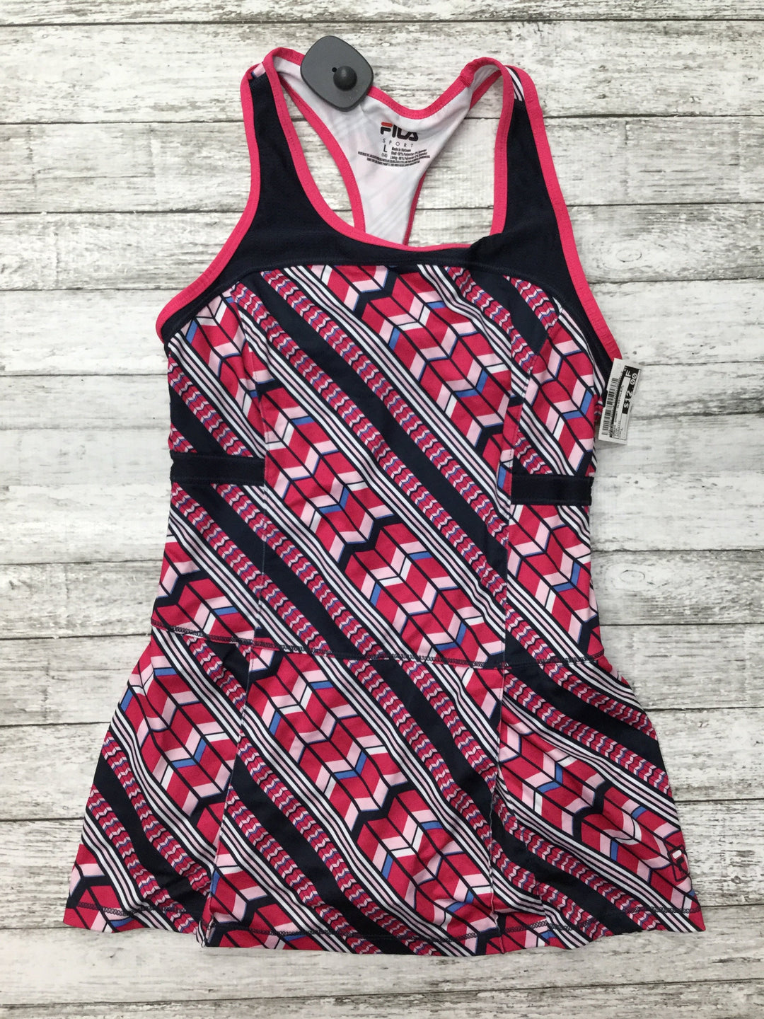 Primary Photo - brand: fila , style: dress short sleeveless , color: pink , size: l , other info: athletic , sku: 126-3003-8339