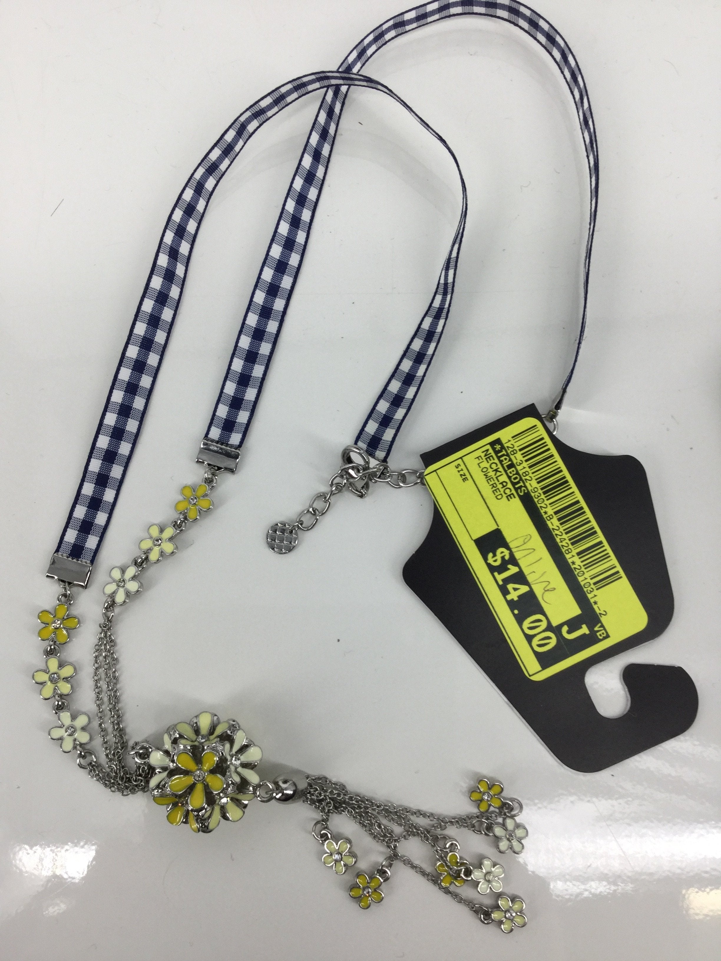 Primary Photo - brand: talbots , style: necklace , color: flowered , sku: 128-3182-9302