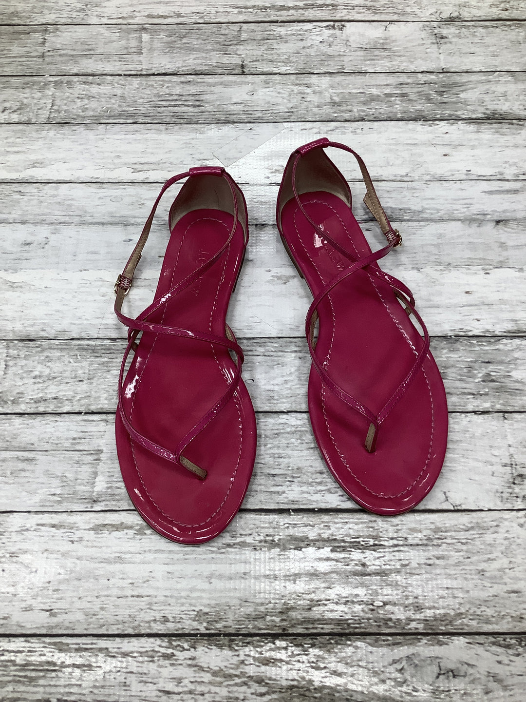 Primary Photo - BRAND: J CREW O , STYLE: SANDALS , COLOR: FUSCHIA , SIZE: 7.5 , SKU: 105-3752-18260