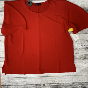 Primary Photo - BRAND: ELOQUII STYLE: TOP SHORT SLEEVE COLOR: RED SIZE: 1X SKU: 126-4886-1198