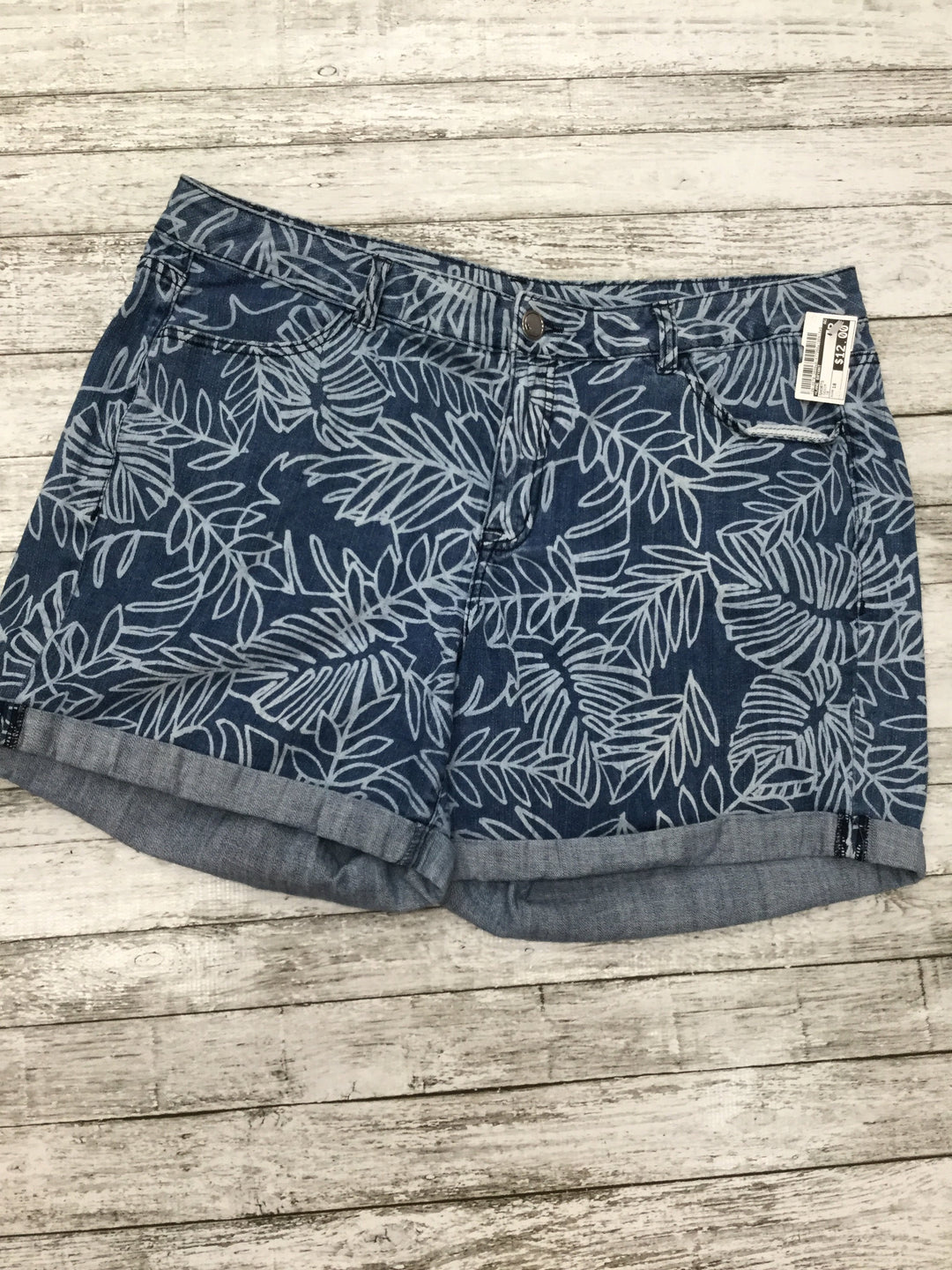Primary Photo - brand: lane bryant , style: shorts , color: denim , size: 18 , sku: 126-4678-2029