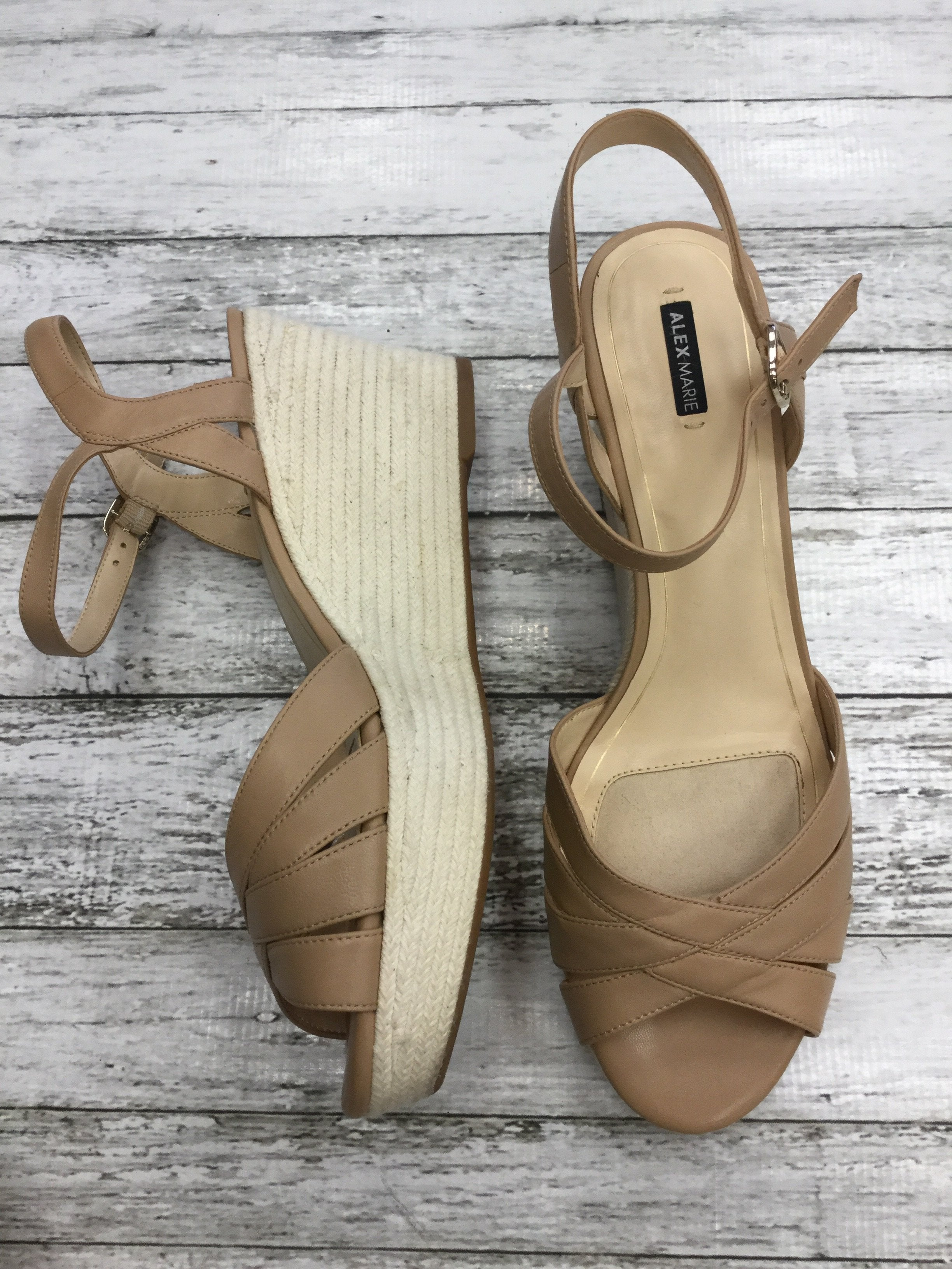 Photo #1 - brand: alex marie , style: sandals high , color: nude , size: 12 , other info: new! , sku: 125-3916-55883