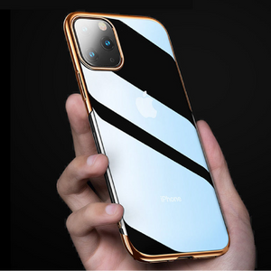 iPhone 11 Pro - Baseus - Ultra-Thin Glitter Case + Tempered Glass + Camera Lens Shield
