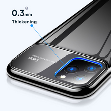 Load image into Gallery viewer, iPhone 11 - Polarised Mirror Lens Case + Tempered Glass + Lens Protector