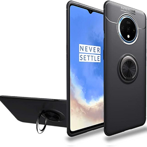 OnePlus (3 in 1 Combo) Ring Case + Tempered Glass + Lens Guard