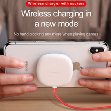 Load image into Gallery viewer, Baseus Spider Suction Cup Mini Wireless Charger