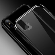 Load image into Gallery viewer, iPhone XS Noble Series Ultra Thin Case + Tempered Glass + Camera Lens Guard