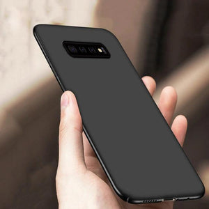 Galaxy S10  (3 in 1 Combo) Paper Back Case + Tempered Glass + Camera Lens Guard