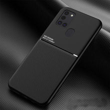 Load image into Gallery viewer, Galaxy A21s Carbon Fiber Twill Pattern Soft TPU Case