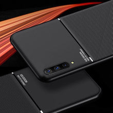 Load image into Gallery viewer, Galaxy A70 Carbon Fiber Twill Pattern Soft TPU Case
