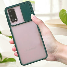 Load image into Gallery viewer, Galaxy M31 Camera Lens Slide Protection Matte Case
