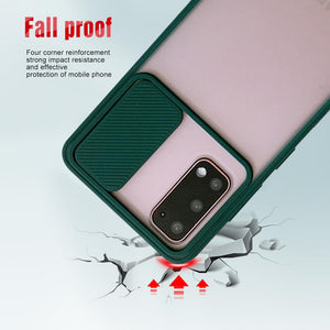 Galaxy M31 Camera Lens Slide Protection Matte Case
