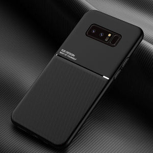 Galaxy Note 8 Carbon Fiber Twill Pattern Soft TPU Case