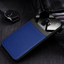 Load image into Gallery viewer, Galaxy S9 Sleek Slim Leather Glass Case