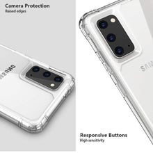 Load image into Gallery viewer, Galaxy S20 Anti knock Shockproof Transparent Case