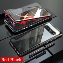 Load image into Gallery viewer, Galaxy S10 Plus (Front+Back) Protection Magnetic Fit Case