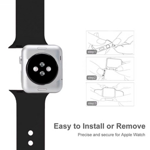 Apple Watch Case + Silicone Watch Strap Combo Offer