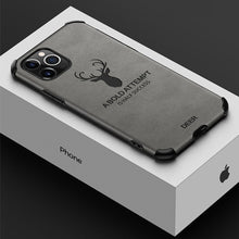 Load image into Gallery viewer, iPhone 11 Pro Max Shockproof Deer Leather Texture Cover