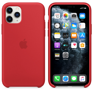 iPhone 11 Pro Max [3-in-1 Combo] Silicone Case + Tempered + Lens Shield