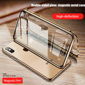 iPhone XS Max (Front+ Back) Magnetic Fit Case
