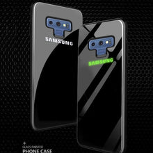 Load image into Gallery viewer, Galaxy Note 9 Radium Case + Tempered Glass + Camera Lens Guard