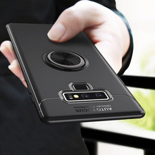 Load image into Gallery viewer, Galaxy Note 9 (3 in 1 Combo)  Ring Case + Tempered Glass + Camera Lens Guard