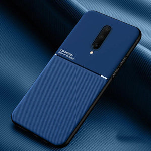 OnePlus 8 Carbon Fiber Twill Pattern Soft TPU Case