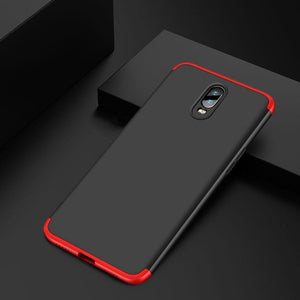 OnePlus  6T  (3 in 1 Combo) GKK Case + Tempered Glass + Camera Lens Guard