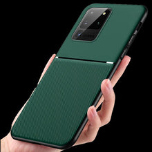 Load image into Gallery viewer, Galaxy S20 Ultra Carbon Fiber Twill Pattern Soft TPU Case
