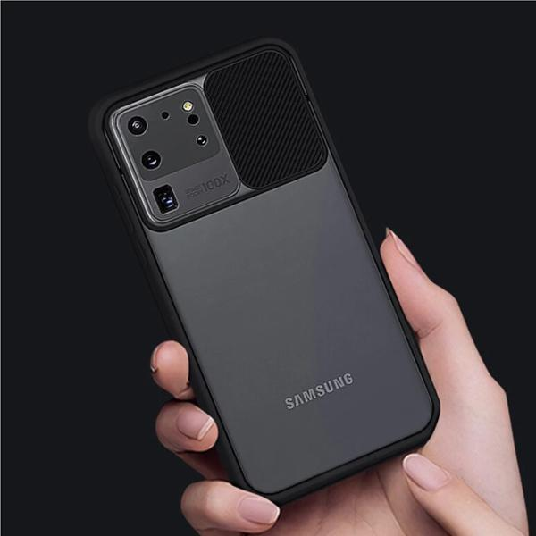 Galaxy S20 Ultra Camera Lens Slide Protection Matte Case