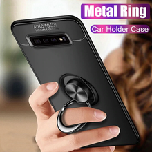 Load image into Gallery viewer, Galaxy Note 8 Metallic Finger Ring Holder Matte Case