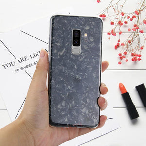 Galaxy S9 Plus (3 in 1 Combo) Dream Shell Case + Tempered Glass + Earphones