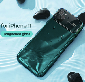 iPhone 11 - Polarised Mirror Lens Case + Tempered Glass + Lens Protector