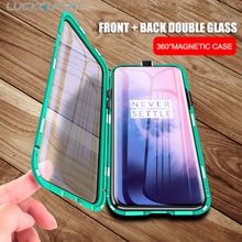 Load image into Gallery viewer, OnePlus 7 (Front + Back) Protection Magnetic Fit Case