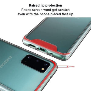 Galaxy S20 Anti knock Shockproof Transparent Case