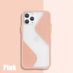 iPhone 11 Series (3 in 1 Combo) Splicing Armour Case + Tempered + Camera Lens Protector